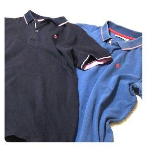 2 Celio Les Essential Polos size L